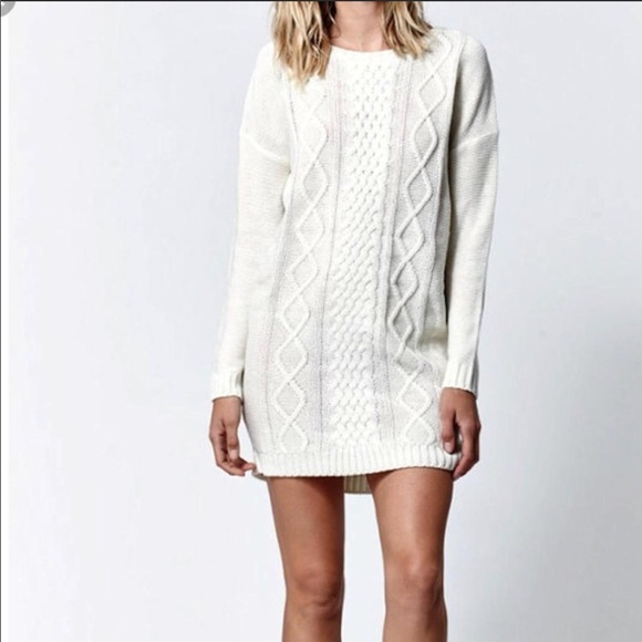 f0db4e400b3 💫NWT Jack by B.B. Dakota Cable Knit Sweater Dress